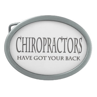 Chiropractors Have Got Your Back Belt Buckle