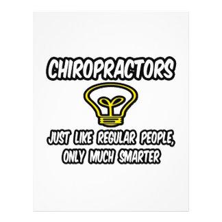 Chiropractors...Regular People, Only Smarter Flyer