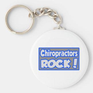 Chiropractors Rock! Keychain