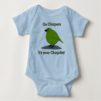 Chirp Day Infant Baby Bodysuit