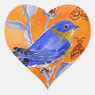 'Chirp' Heart Heart Sticker