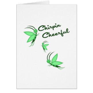 Chirpin Cheerful Greeting Cards