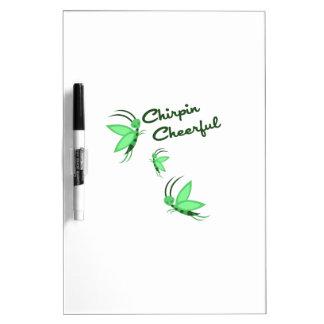Chirpin Cheerful Dry-Erase Whiteboard