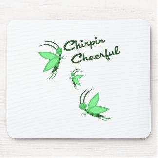 Chirpin Cheerful Mousepad