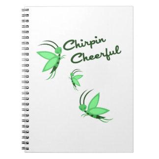 Chirpin Cheerful Spiral Notebook