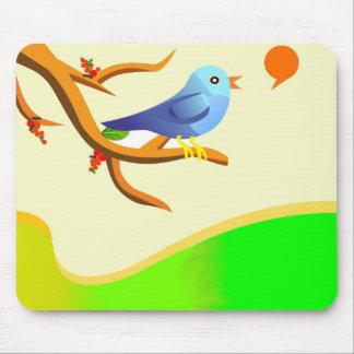 Chirping Bird ! Mouse Pad