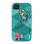 Chirps vs. The Worm Vibe iPhone 4 Covers