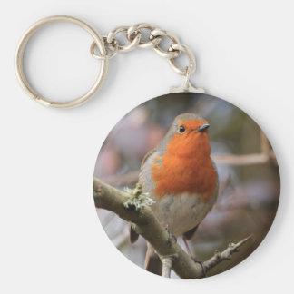 Chirpy Robin Key Chains