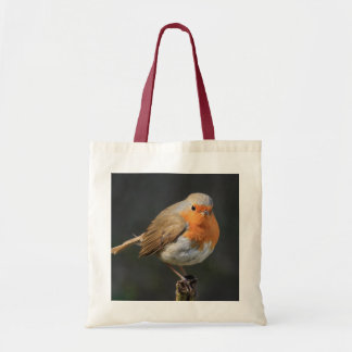 Chirpy Robin Tote Bag