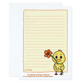 Chirpy the Chick (Pathway Pet) Card
