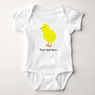 Chirpy the Yellow Baby Chick Tee Shirts