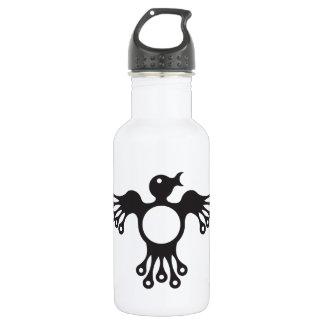 chirpy totem bird 18oz water bottle