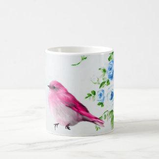 Chirrido de la primavera taza de café