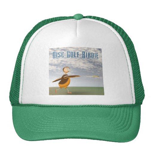 Chirrido del golf del disco gorras