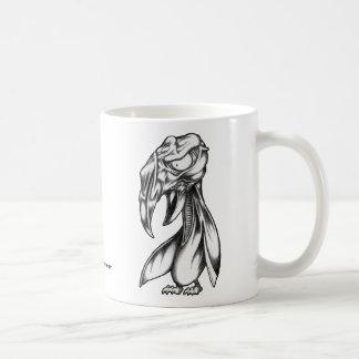Chirrido del mutante taza de café