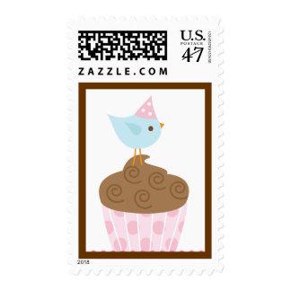 Chirrido dulce sello postal