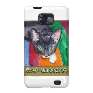 ¡Chirrido - el gato de la maravilla! Galaxy S2 Carcasa
