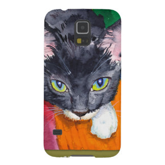 ¡Chirrido - el gato de la maravilla! Fundas De Galaxy S5