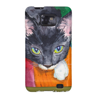 ¡Chirrido - el gato de la maravilla! Galaxy S2 Fundas