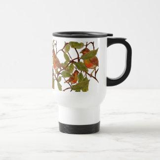 Chirrido hermoso taza de café