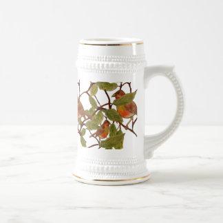 Chirrido hermoso tazas de café