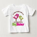 Chirrido que va a ser una hermana grande camisas