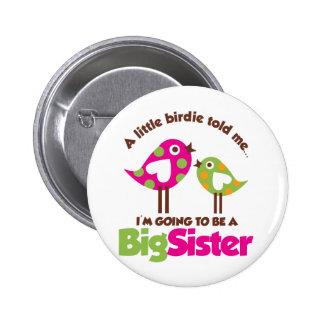 Chirrido que va a ser una hermana grande pin