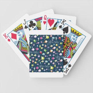 Chirridos del cafeína baraja de cartas