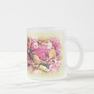 Chirridos del flor taza
