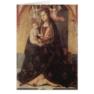 Chirstmas - Madonna & Child Antonello da Messina Greeting Card