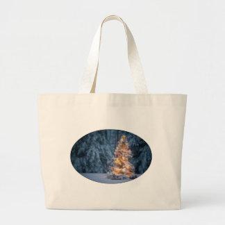 Chirstmas Tree Tote Bags