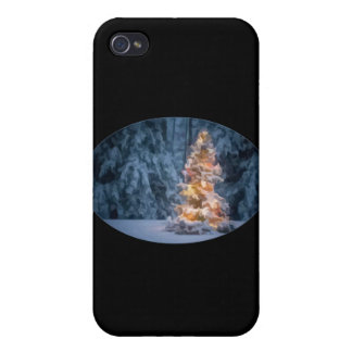 Chirstmas Tree Covers For iPhone 4
