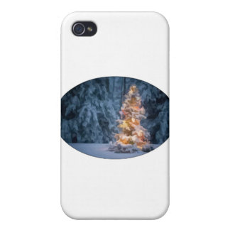 Chirstmas Tree iPhone 4 Cases