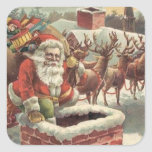 Chirstmas Vintage Holiday Sticker