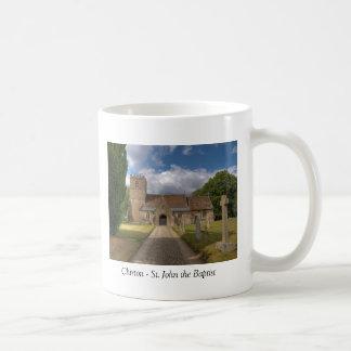 Chirton St John the Baptist Basic White Mug