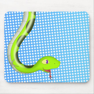 Chiru the snake mouse pad