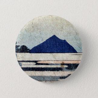 Chiryu  by Katsushika, Hokusai Ukiyoe Pinback Button
