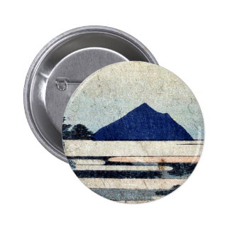 Chiryu por Katsushika, Hokusai Ukiyoe Pin Redondo De 2 Pulgadas