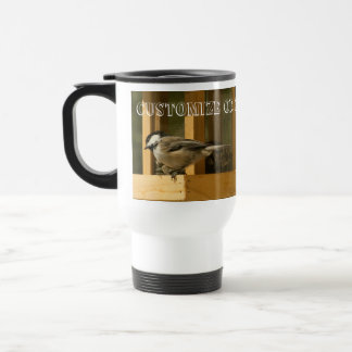 CHIS Chickadee is Suspicious 15 Oz Stainless Steel Travel Mug