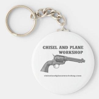 Chisel and Plane Workshop 45 Basic Round Button Keychain