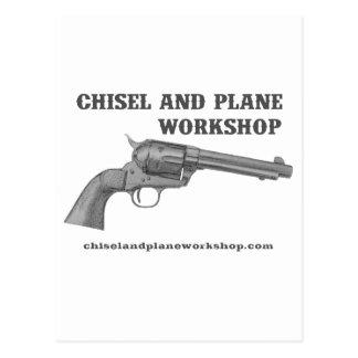 Chisel and Plane Workshop 45 Postcard