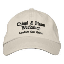 Chisel and Plane Workshop Embroidered Baseball Hat