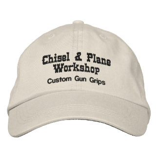 Chisel and Plane Workshop Embroidered Hat