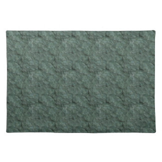 Chiseled Gray Green Rock Placemat
