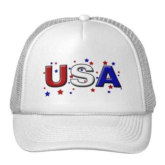Chiseled Starry USA Trucker Hat