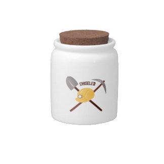 Chiseled Tools Candy Jar