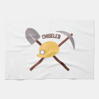 Chiseled Tools Hand Towel
