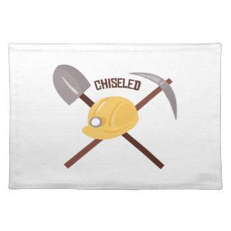 Chiseled Tools Cloth Place Mat