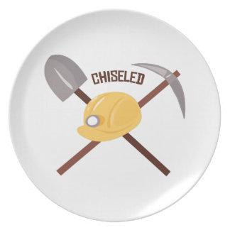 Chiseled Tools Plates