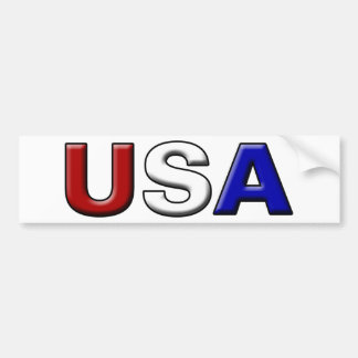 Chiseled USA Car Bumper Sticker